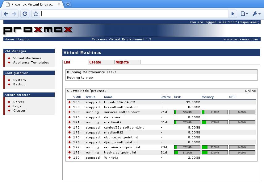 Proxmox VE: Efficient Virtualization - tech surveypoint com